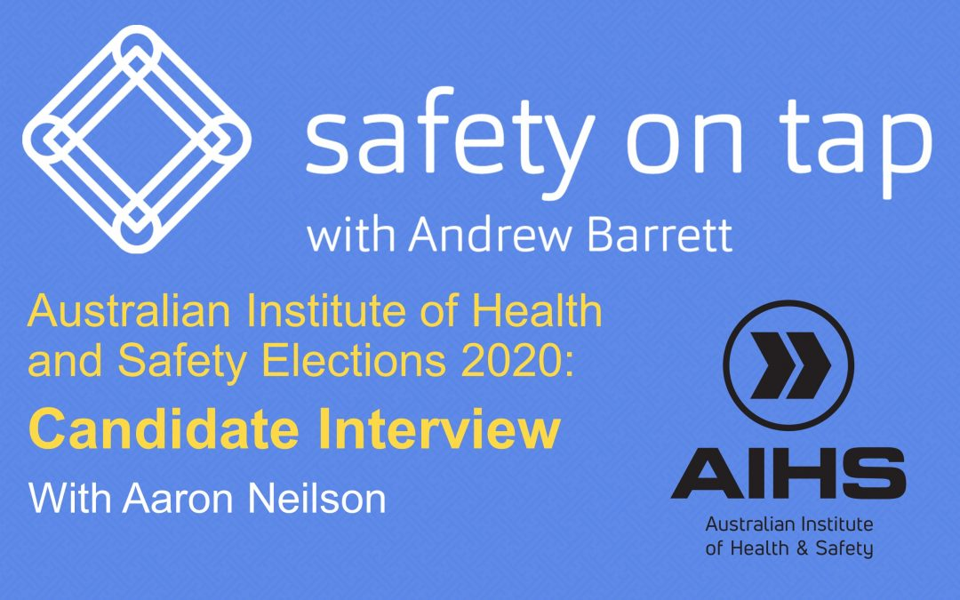 AIHS Election Interview- Aaron Nielson