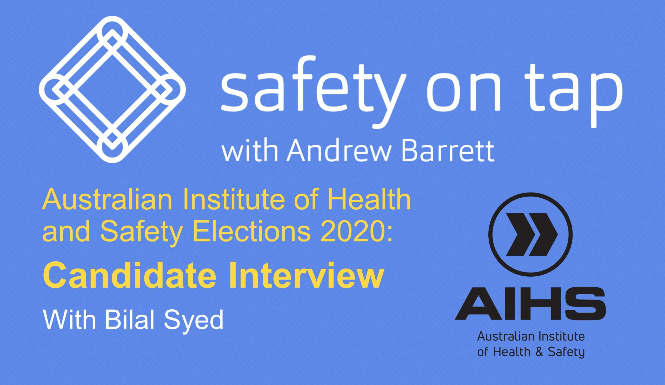 AIHS Election Interview – Bilal Syed