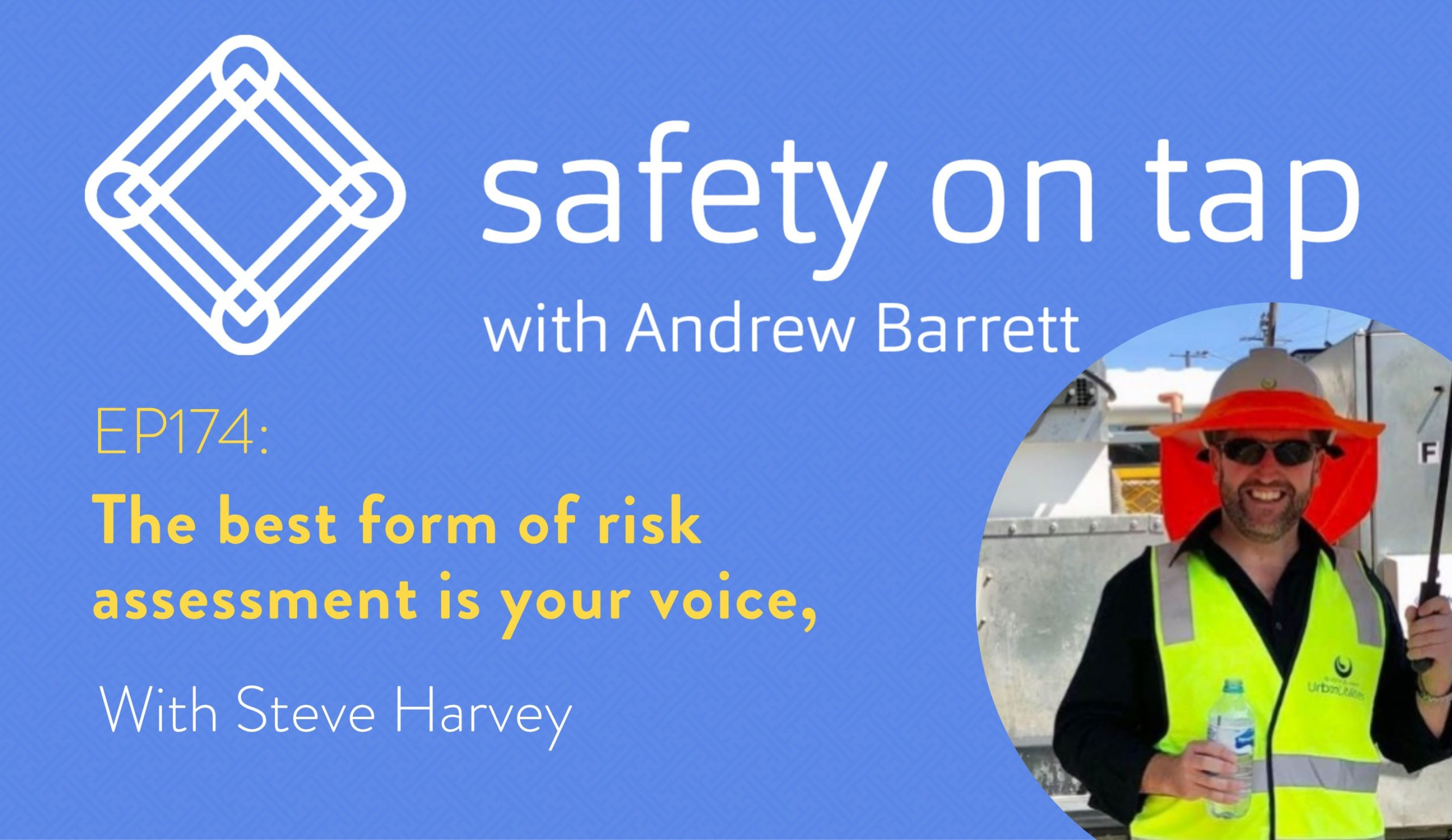 Ep174: The best form of risk assessment is your voice, with Steve Harvey