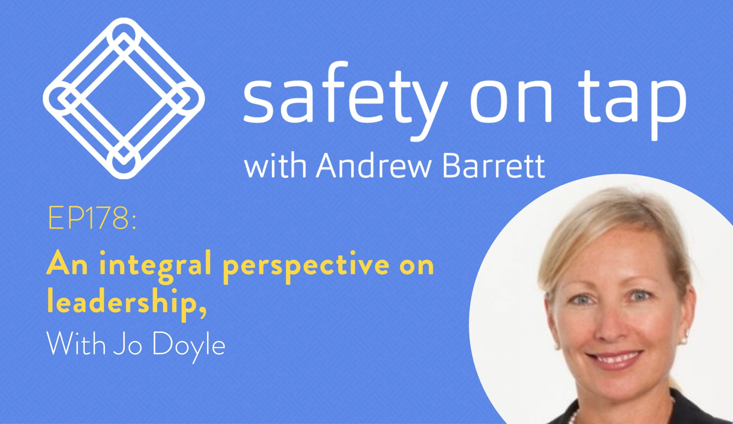 Ep178: An integral perspective on leadership, with Jo Doyle